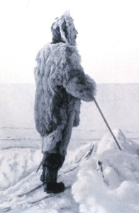 Amundsen in his work clothes.